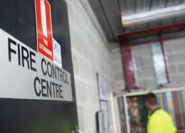Fire control Centre room